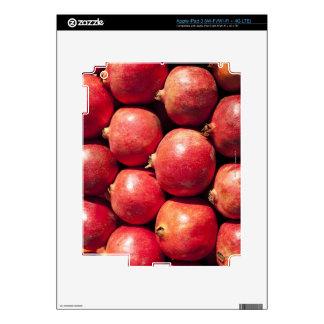 Pomegranates on display at the Carmel Market iPad 3 Skin