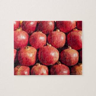 Pomegranates on display at the Carmel Market Jigsaw Puzzle