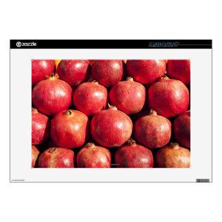 "Pomegranates on display at the Carmel Market Skins For 15"" Laptops"