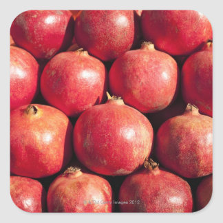 Pomegranates on display at the Carmel Market Square Sticker