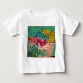 Pomegranates Pears And Parsley Baby T-Shirt