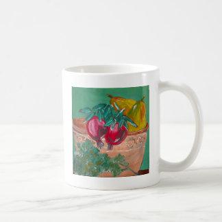 Pomegranates Pears And Parsley Coffee Mug