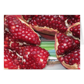 Pomegrante Delight Card