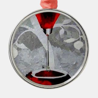Pomegrante Rum 2011.JPG Metal Ornament