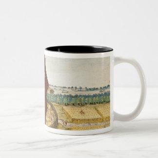 Pomeiooc Elder in a winter garment Two-Tone Coffee Mug