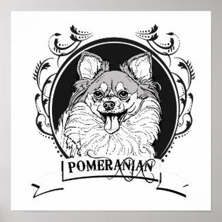 POMERANIAN 2 POSTER