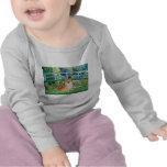 Pomeranian 3 - Bridge T Shirts