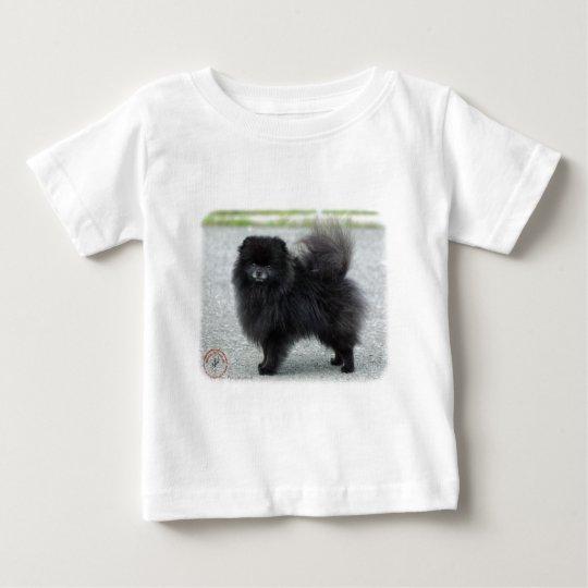 Pomeranian 9R042D-47 Baby T-Shirt