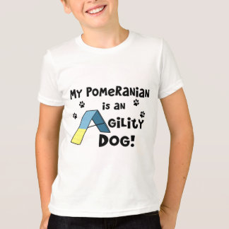 Pomeranian Agility Dog Child's T-Shirt