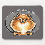 Pomeranian anaranjado IAAM Alfombrilla De Raton