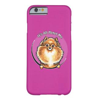 Pomeranian anaranjado IAAM Funda Para iPhone 6 Barely There