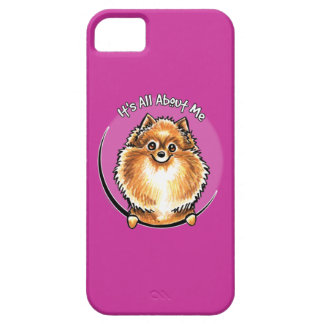Pomeranian anaranjado IAAM iPhone 5 Carcasa