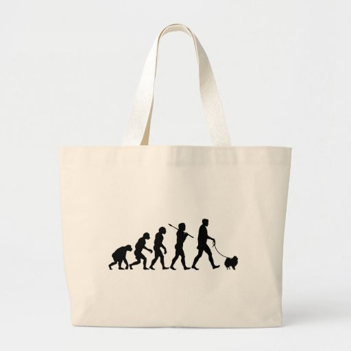 Pomeranian Tote Bags