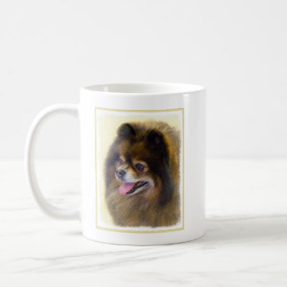 Pomeranian (Black and Tan) Coffee Mug