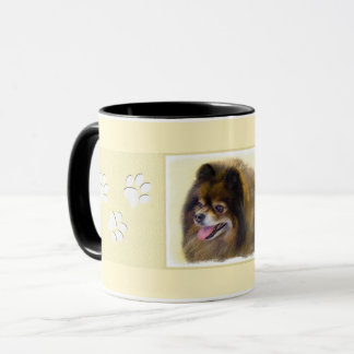 Pomeranian (Black and Tan) Mug