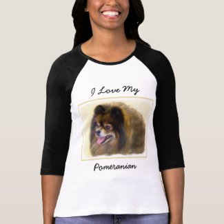 Pomeranian (Black and Tan) T-Shirt