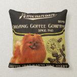 Pomeranian Brand – Organic Coffee Company Pillows