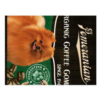 Pomeranian Brand – Organic Coffee Company Postcard