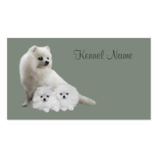 Pomeranian Breeder Business Card