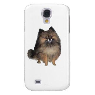 Pomeranian -  brindle samsung s4 case