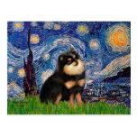 Pomeranian (BT) - Starry Night Postcards
