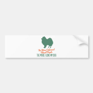 Pomeranian Bumper Stickers