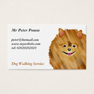 Pomeranian Business Card