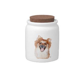 Pomeranian Candy Jar