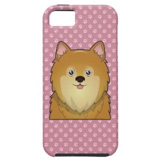 Pomeranian Cartoon iPhone SE/5/5s Case