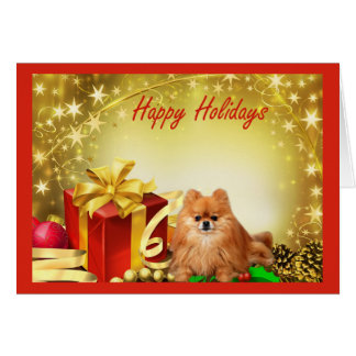 Pomeranian  Christmas Card Gifts