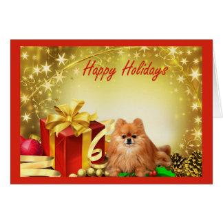 Pomeranian  Christmas Card Gifts