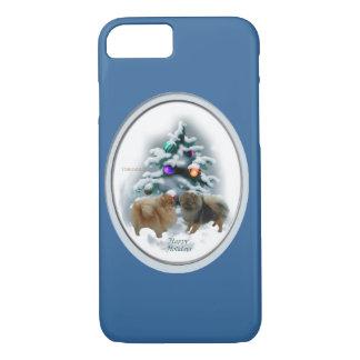 Pomeranian Christmas iPhone 8/7 Case