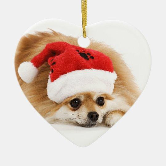 Pomeranian Christmas Ornament - Pomeranian Christmas Ornament Zazzle.com