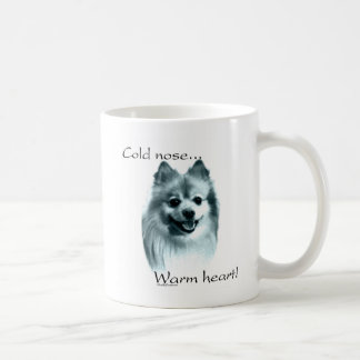 Pomeranian Cold Nose Warm Heart Coffee Mug