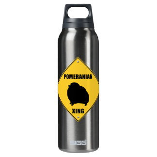 Pomeranian Crossing (XING) Sign SIGG Thermo 0.5L Insulated Bottle