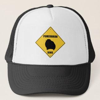 Pomeranian Crossing (XING) Sign Trucker Hat