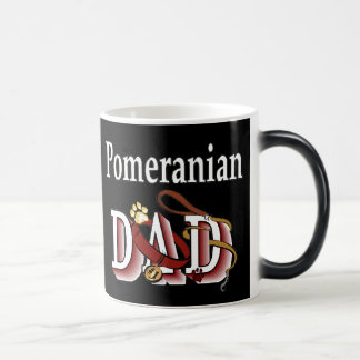 Pomeranian Dad Gifts Magic Mug