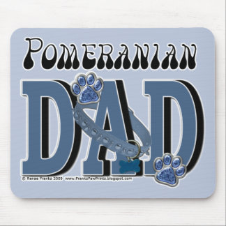 Pomeranian DAD Mouse Pad
