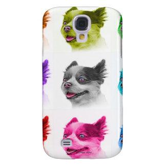 Pomeranian dog art 4584 WB Samsung S4 Case