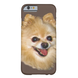 Pomeranian Dog Customizable Barely There iPhone 6 Case
