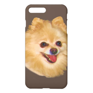 Pomeranian Dog Customizable iPhone 7 Plus Case