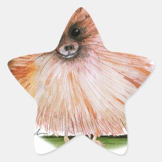pomeranian dog, tony fernandes star sticker