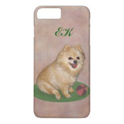Case-Mate Tough iPhone 7 Plus Case with Pomeranian Phone Cases design