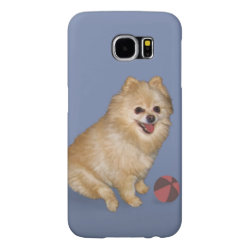Case-Mate Barely There Samsung Galaxy S6 Case with Pomeranian Phone Cases design