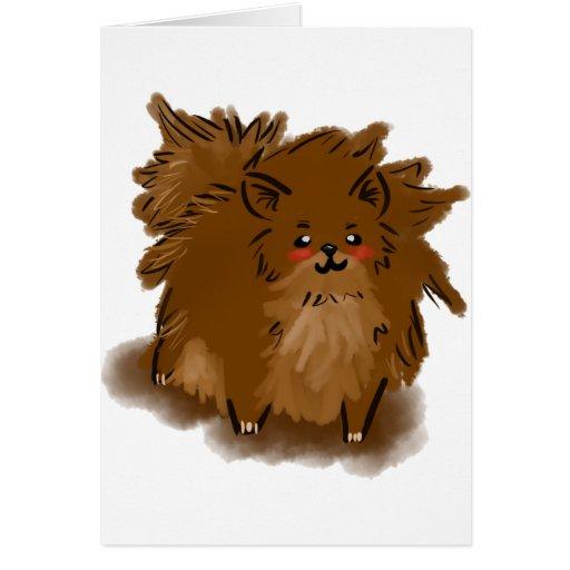 Pomeranian Felicitacion