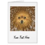 Pomeranian Greeting Card