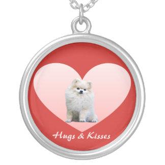 Pomeranian Heart Necklace