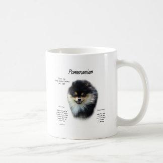 Pomeranian History Design Coffee Mug