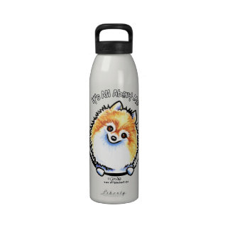 Pomeranian IAAM Botella De Agua