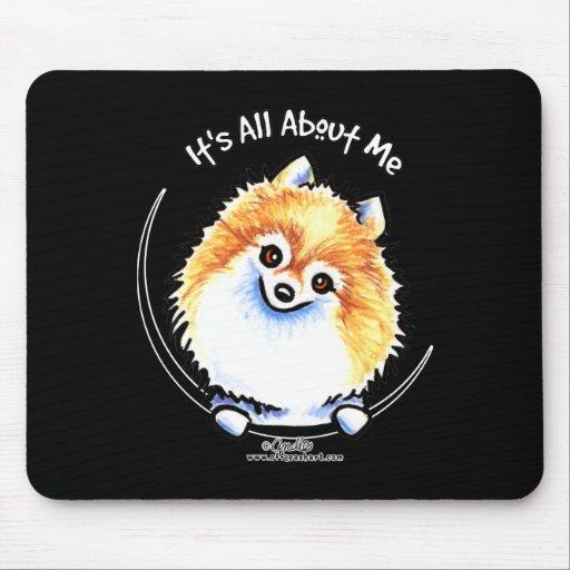 Pomeranian IAAM Mouse Pad